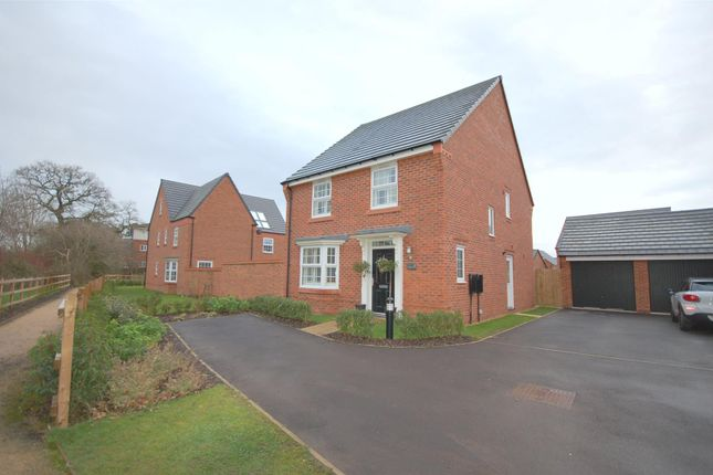 Thumbnail Detached house for sale in Rushes Close, Stapeley, Nantwich