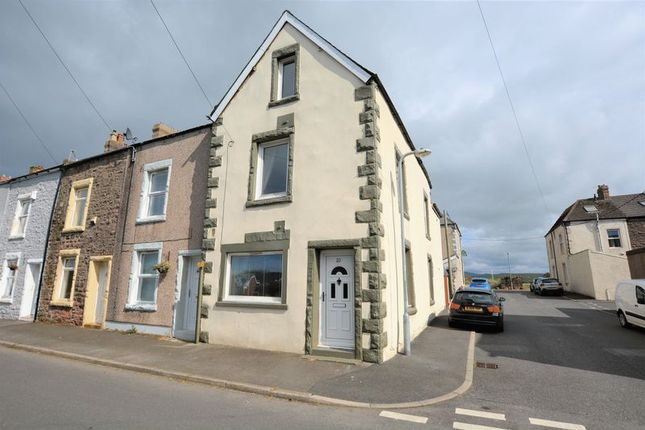 Thumbnail End terrace house for sale in Moresby Parks Road, Moresby Parks, Whitehaven