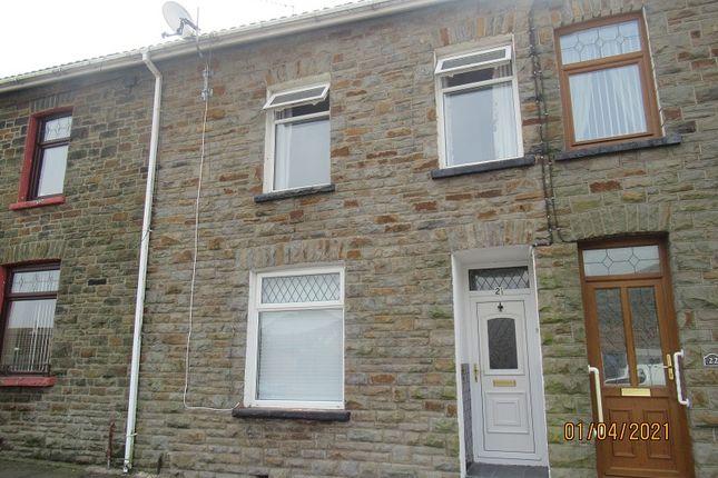 3 bed terraced house to rent in Woodfield Terrace, Trehafod, Rhondda Cynon Taff. CF37