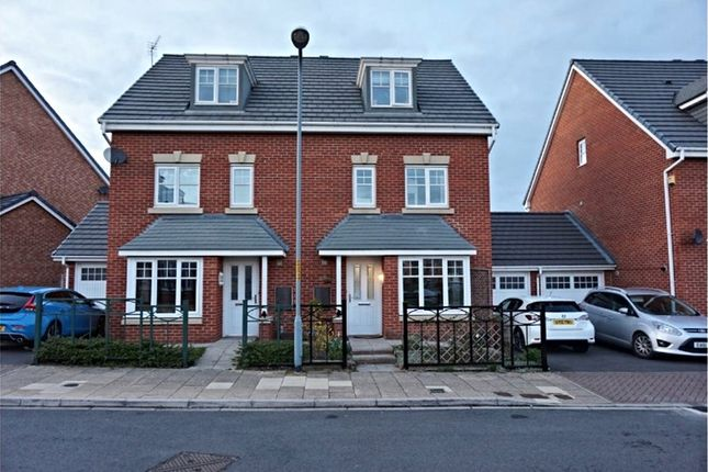 Thumbnail Semi-detached house for sale in Orkney Way, Thornaby, Stockton-On-Tees