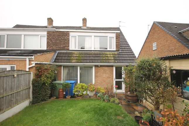 Semi-detached house for sale in Brearley Avenue, New Whittington, Chesterfield