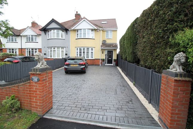 Thumbnail Semi-detached house for sale in Weston Lane, Bulkington, Bedworth