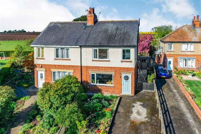 3 bed semi-detached house for sale in North End, Long Marston, York YO26