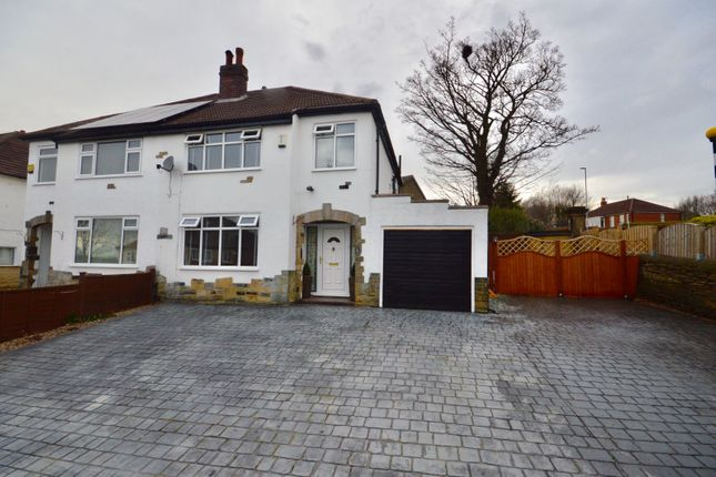 Thumbnail Semi-detached house for sale in Hill End Crescent, Leeds, West Yorkshire