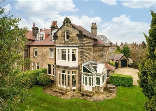 Thumbnail Semi-detached house for sale in Park Drive, Harrogate, North Yorkshire