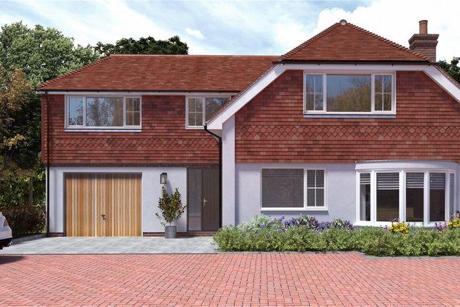 Thumbnail Detached house for sale in Wheatsheaf Fields, Popham Lane, North Waltham, Hampshire