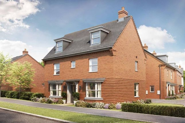 "Thumbnail Detached house for sale in ""Hertford"" at Broughton Crossing, Broughton, Aylesbury"