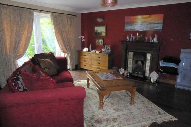 Lounge of Iron Way, Tondu, Bridgend. CF32