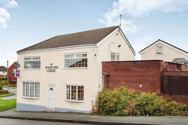 Thumbnail Detached house for sale in Station Road, Winsford