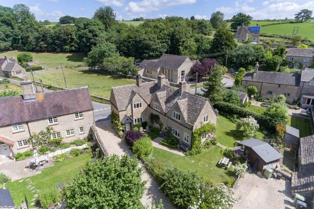 Aerial View of The Square, Maces Hill, Daglingworth, Cirencester GL7