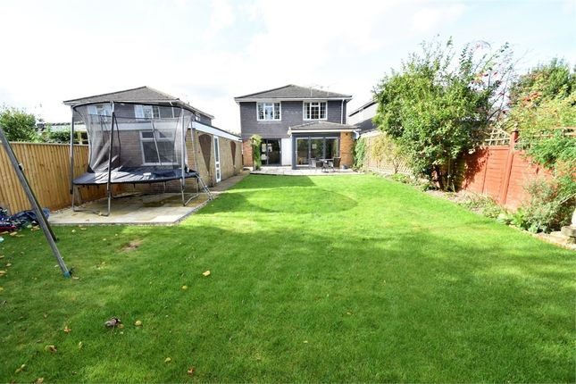 Thumbnail Detached house for sale in Macdonald Road, Lightwater, Surrey