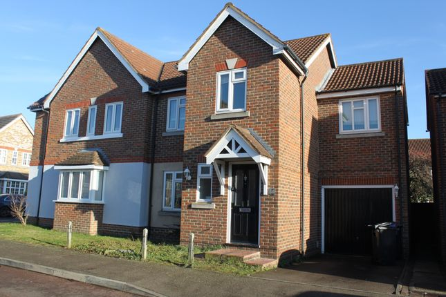 Thumbnail Semi-detached house to rent in Westbury Rise, Church Langley, Harlow