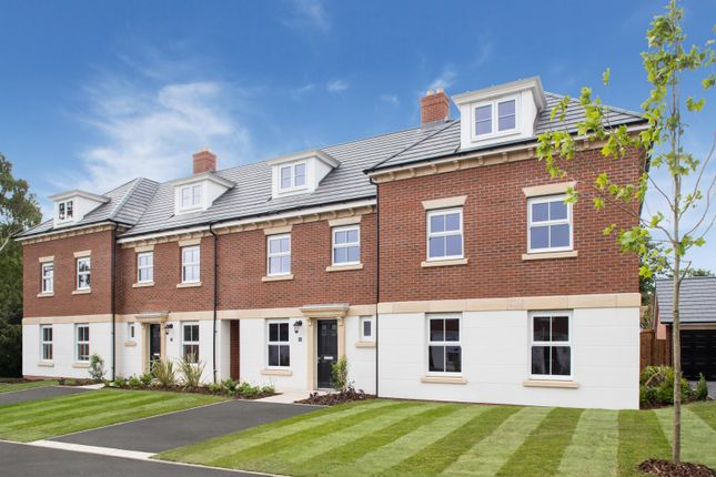 Thumbnail Town house for sale in Earl's Park. Chester Lane, Chester, Cheshire