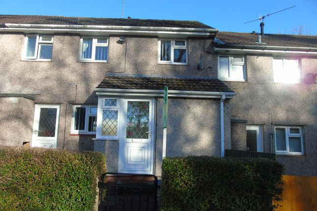 Thumbnail Terraced house for sale in Hollybush Close, Cwmbran