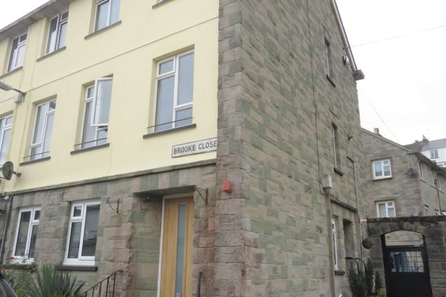 Thumbnail Town house to rent in Brooke Close, Saltash
