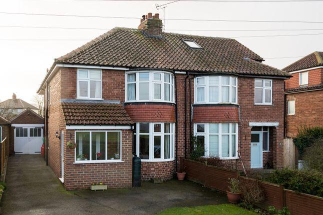 Thumbnail Semi-detached house for sale in New Lane, Green Hammerton, York