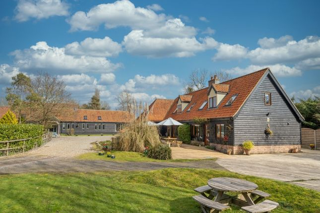 Thumbnail Barn conversion for sale in High Street, Ilketshall St. Margaret, Bungay