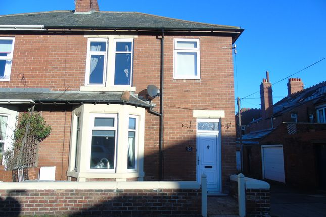 Thumbnail Semi-detached house to rent in Westfield Crescent, Newbiggin-By-The-Sea
