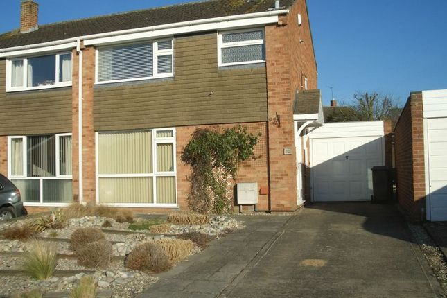 Thumbnail Semi-detached house to rent in Crown Drive, Bishops Cleeve, Cheltenham
