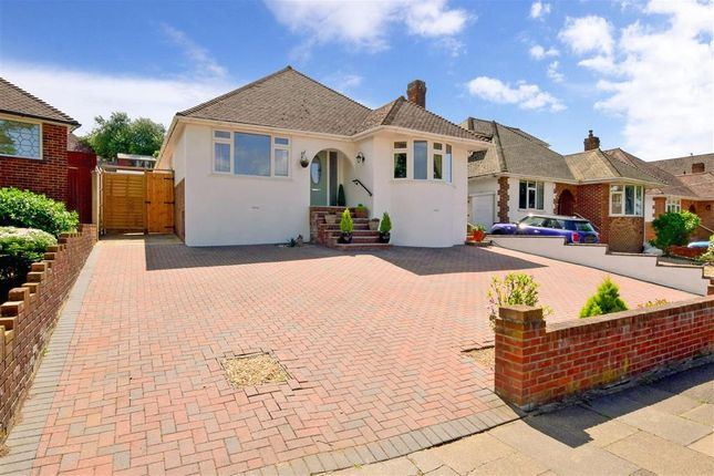 Thumbnail Detached bungalow for sale in Saltdean Vale, Saltdean, Brighton, East Sussex