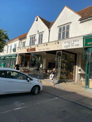 Thumbnail Commercial property to let in 261 High Street, Epping