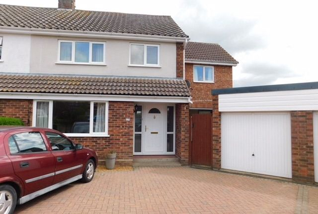 Thumbnail Semi-detached house for sale in Cavendish Road, Stowmarket