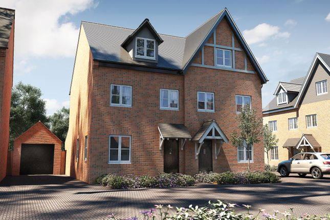 """Thumbnail Semi-detached house for sale in """"The Acton"""" at Oak Tree Road, Hugglescote, Coalville"""
