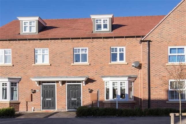 Thumbnail Town house for sale in William Spencer Avenue, Sapcote, Leics