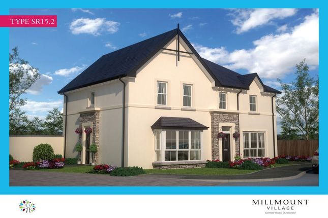 Thumbnail Semi-detached house for sale in Millmount Village, Comber Road, Dundonald