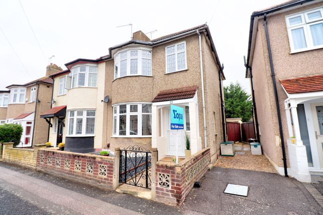 3 bed semi-detached house for sale in Cedar Road, Romford RM7