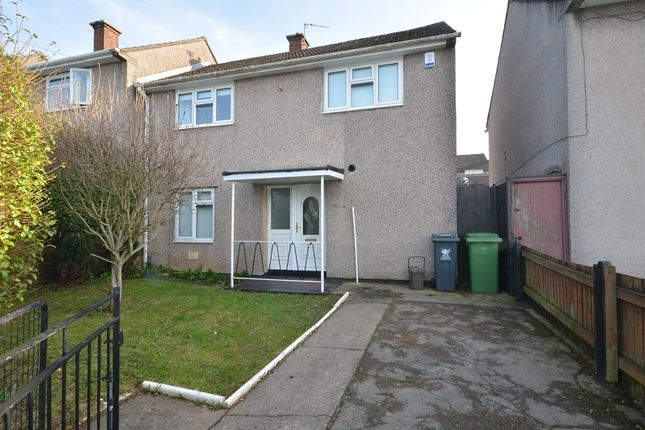 2 bed semi-detached house for sale in Clevedon Road, Llanrumney, Cardiff, Cardiff. CF3