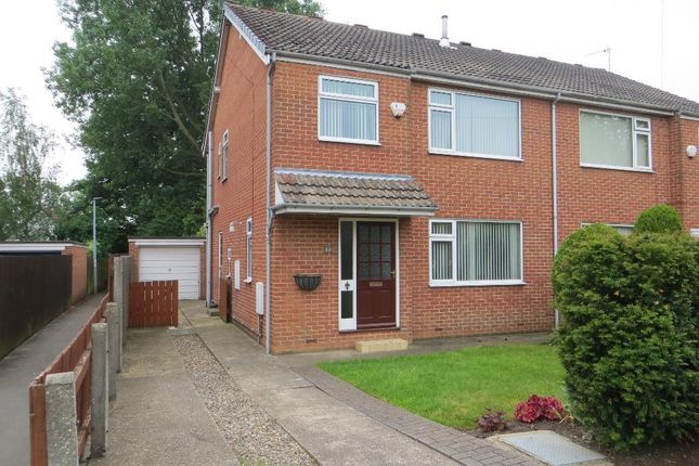 Thumbnail Semi-detached house to rent in Churchill Avenue, Cottingham, East Riding Of Yorkshire