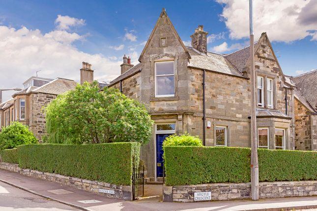 Thumbnail Detached house for sale in Argyle Crescent, Edinburgh
