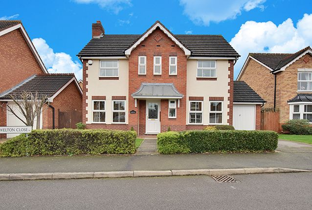 Thumbnail Detached house for sale in Welton Close, Sutton Coldfield, West Midlands