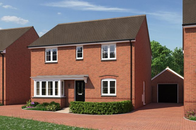 "Thumbnail Detached house for sale in ""The Pembroke"" at Moormead Road, Wroughton, Swindon"