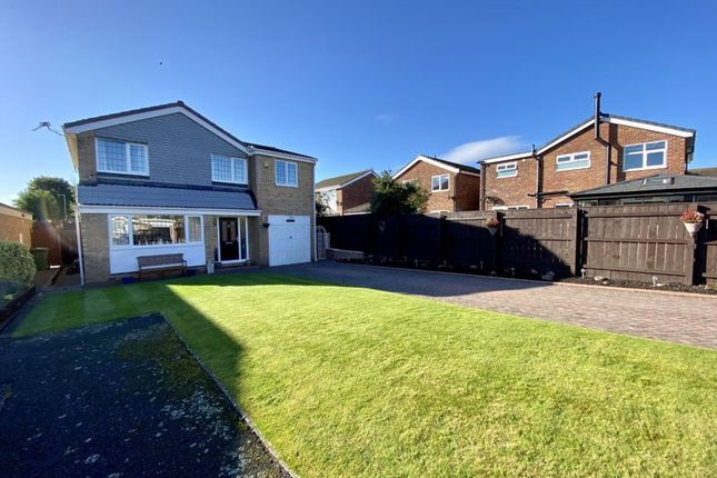 Thumbnail Detached house for sale in Braeworth Close, Yarm