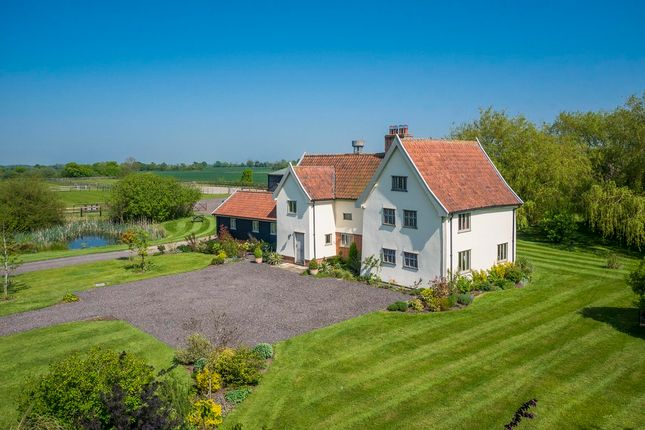 Thumbnail Detached house for sale in Suffolk, Pixey Green, Near Stradbroke Equestrian Property