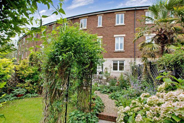 Rear Garden of Gras Lawn, St. Leonards, Exeter EX2