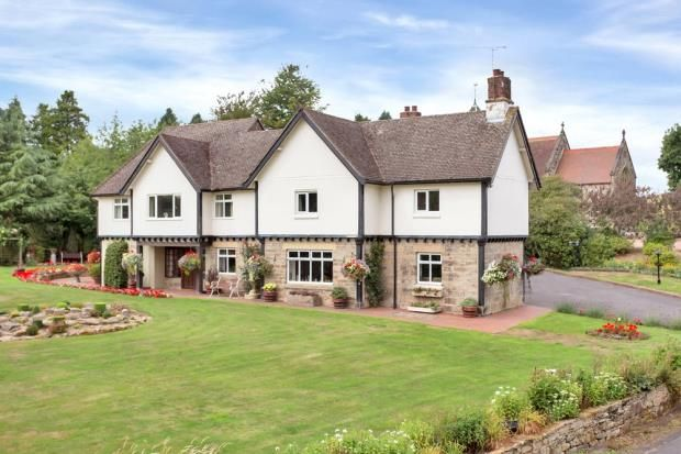 Thumbnail Detached house for sale in Bretby, Burton-On-Trent, Derbyshire