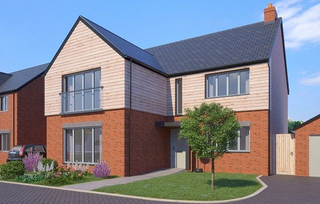 Thumbnail Detached house for sale in The Newman, Greenspire, Clyst St Mary, Exeter, Devon