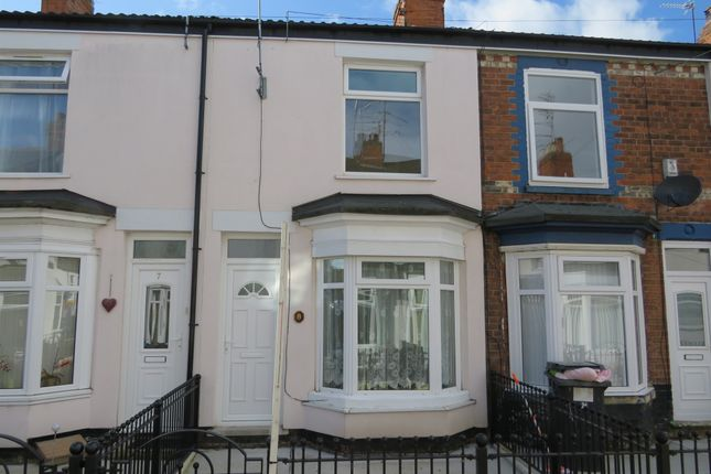 Thumbnail Terraced house for sale in Mckinley Avenue, Albemarle Street, Hull