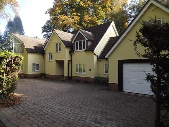 Thumbnail Detached house for sale in Avon Castle Drive, Ringwood