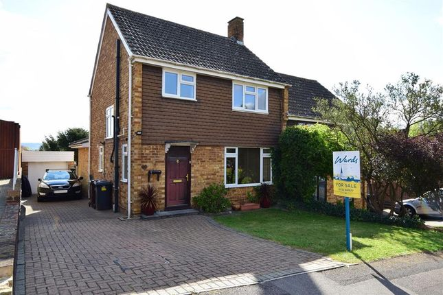 3 bed semi-detached house for sale in The Ferns, Larkfield, Aylesford, Kent ME20