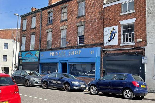 Thumbnail Retail premises for sale in 61 Osmaston Road, Derby, Derbyshire