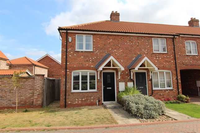 Thumbnail End terrace house for sale in Cotswold Close, Cleethorpes