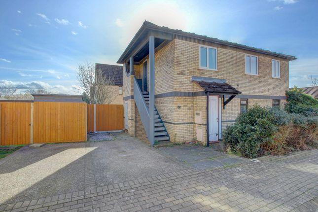 Front Elevation of Huckleberry Close, Walnut Tree, Milton Keynes MK7