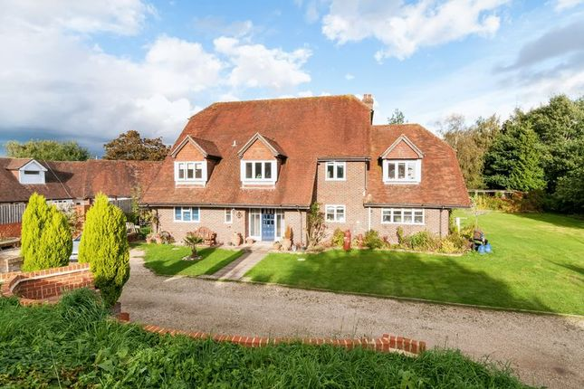 Thumbnail Detached house for sale in Casbrook Common, Braishfield, Romsey