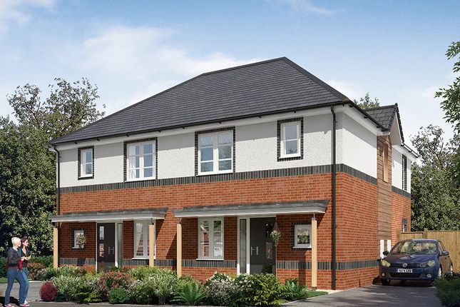 "Thumbnail Semi-detached house for sale in ""The Hamilton Semi"" at Cobblers Lane, Pontefract"