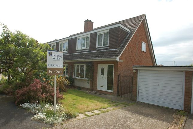 Thumbnail Semi-detached house for sale in Lennox Close, Alverstoke, Gosport