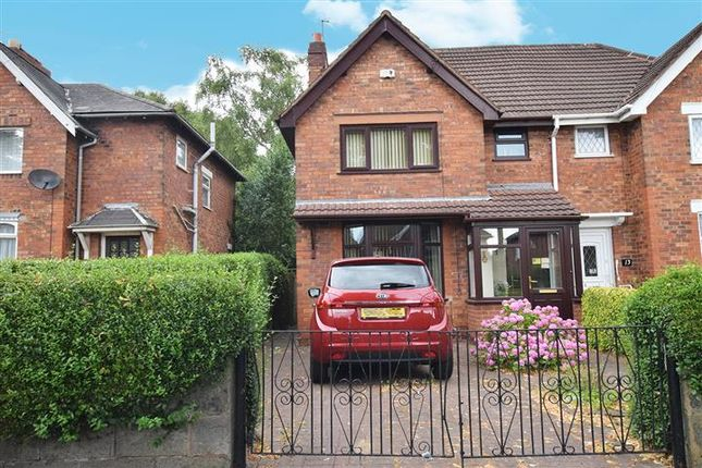 Thumbnail Semi-detached house for sale in Tame Street East, Walsall, West Midlands